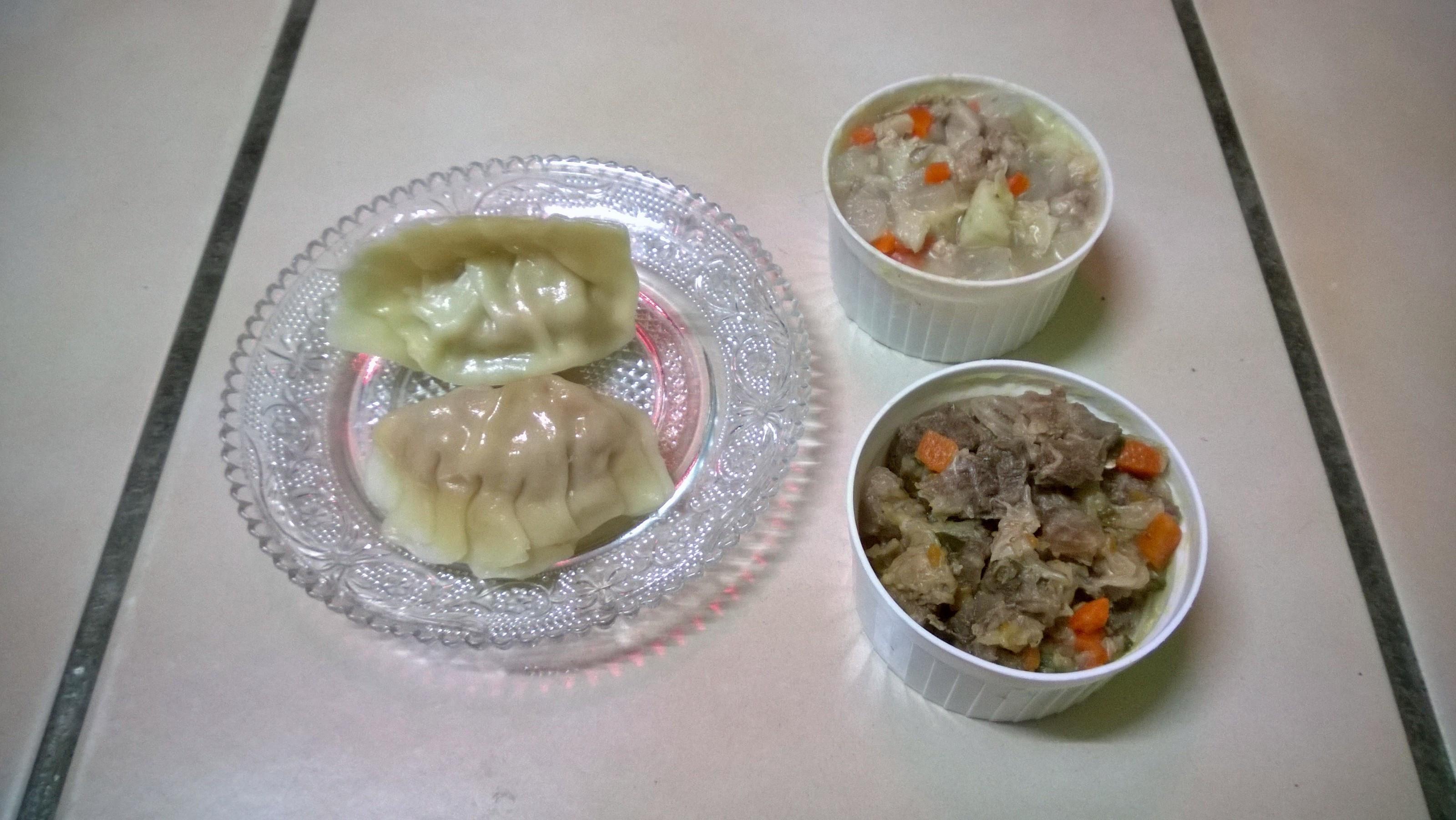 鮮食🐾豬肉水餃 山藥鴨肉湯 白菜滷牛腱