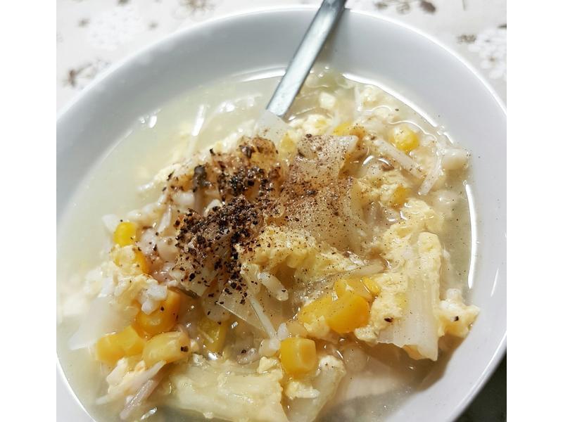 暖心雜菜糙米粥