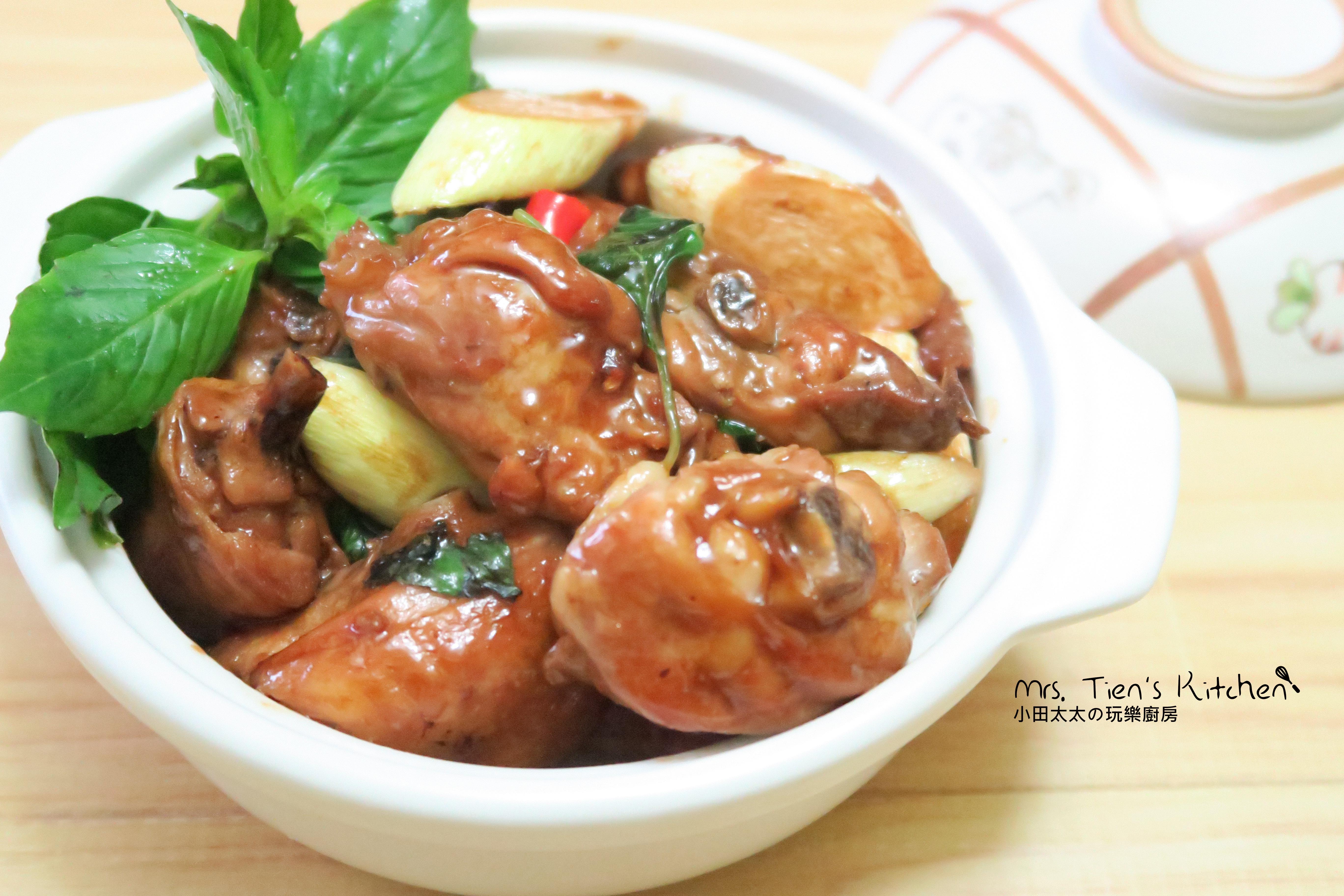 筊白筍三杯雞~超下飯便當菜