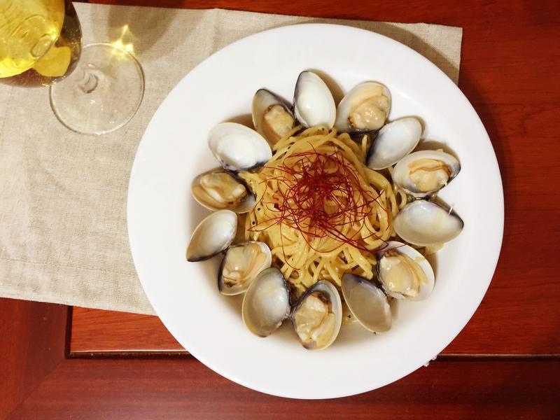 微醺約會料理-白酒蛤蠣義大利麵