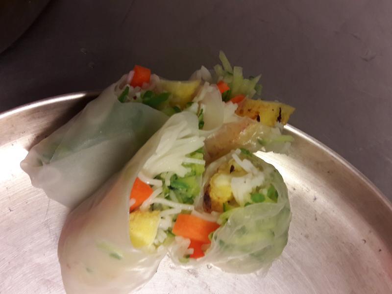 泰式春卷 素食