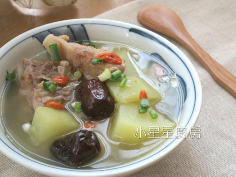紅棗青木瓜排骨湯