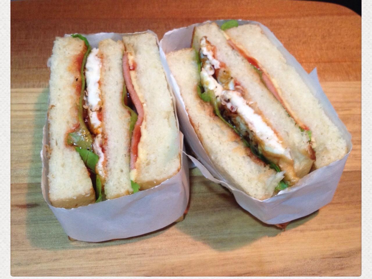 營養美味三明治
