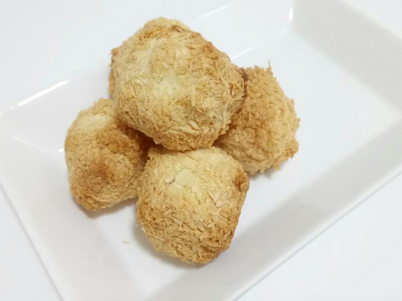 ❤低卡料理❤無油法式椰子球椰香好幸福