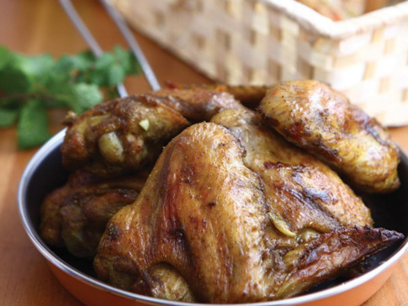 香烤咖哩雞翅