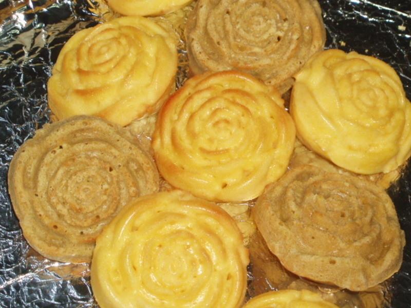 ㄚ曼達的廚房~玫瑰花蛋糕