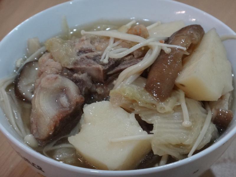 馬鈴薯豬骨湯