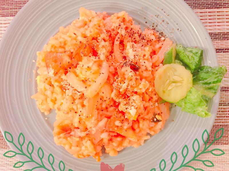 培根番茄燉飯