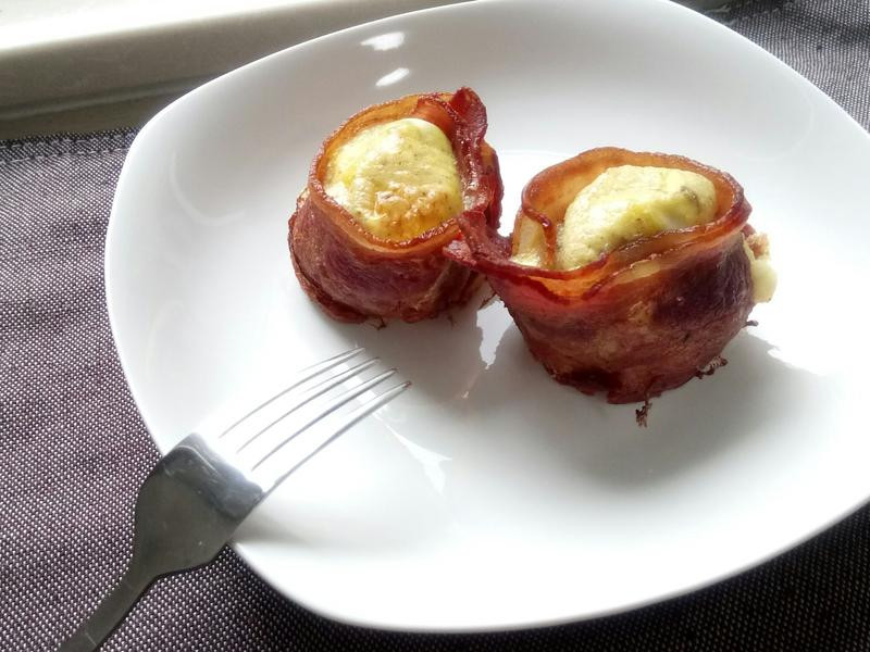 ❤早餐料理❤快速漂亮好吃培根花起司蛋捲