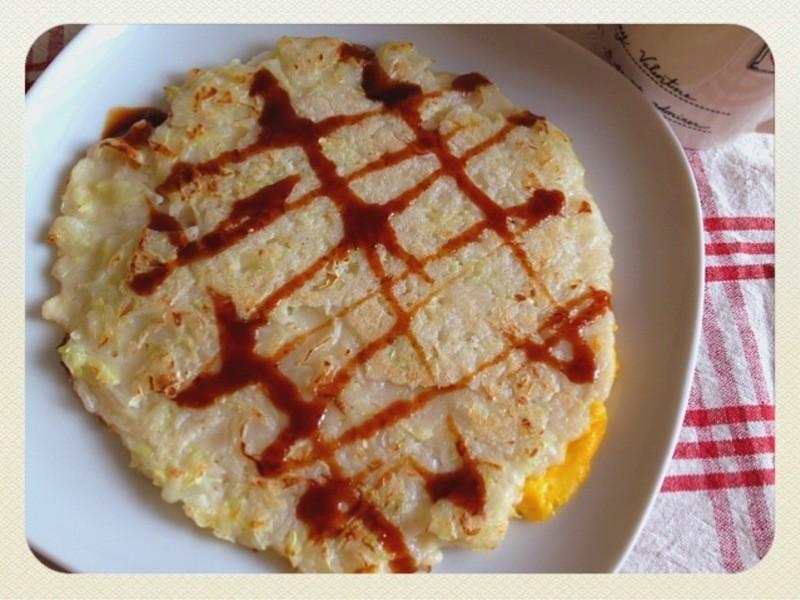 【妮小娜隨性煮】DIY蔬菜蛋餅