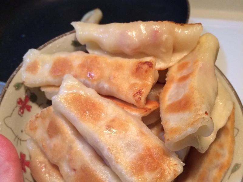 愛妻宵夜-香酪鍋貼