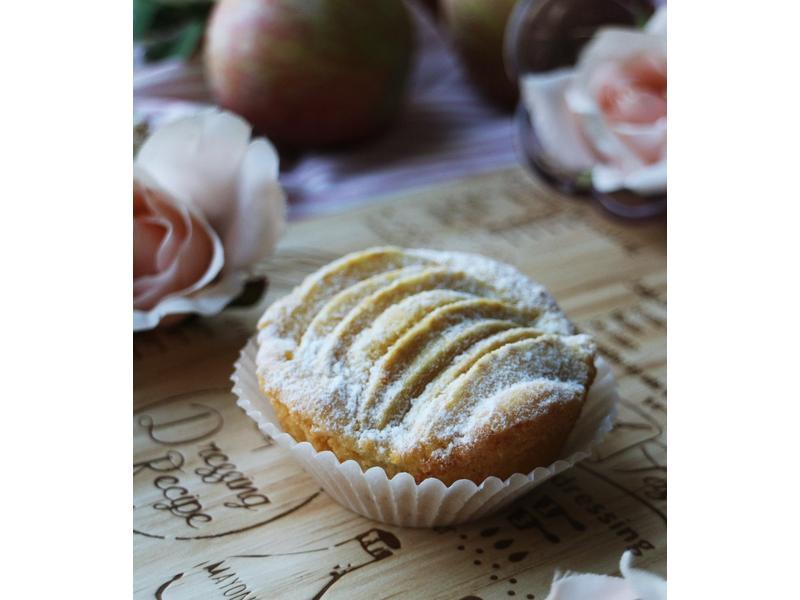 一人獨享的蘋果小蛋糕