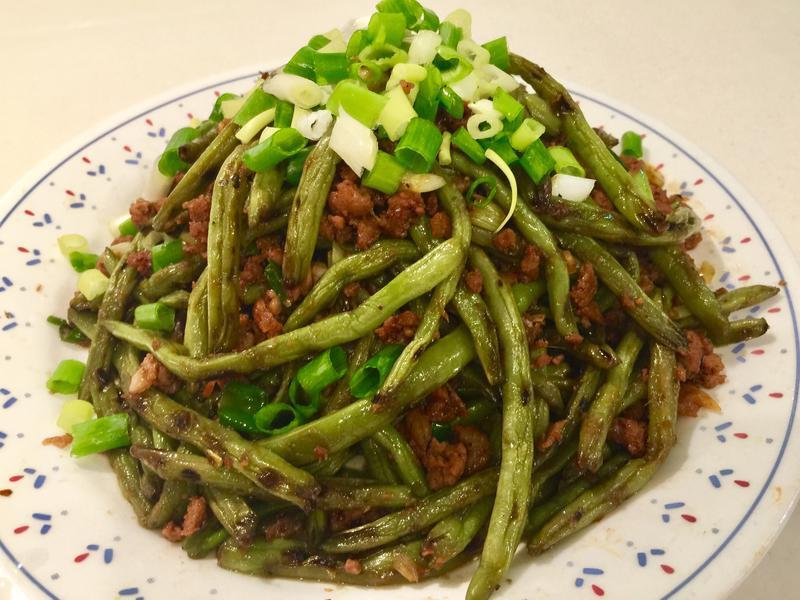 鑄鐵鍋料理~乾煸四季豆Lodge鍋