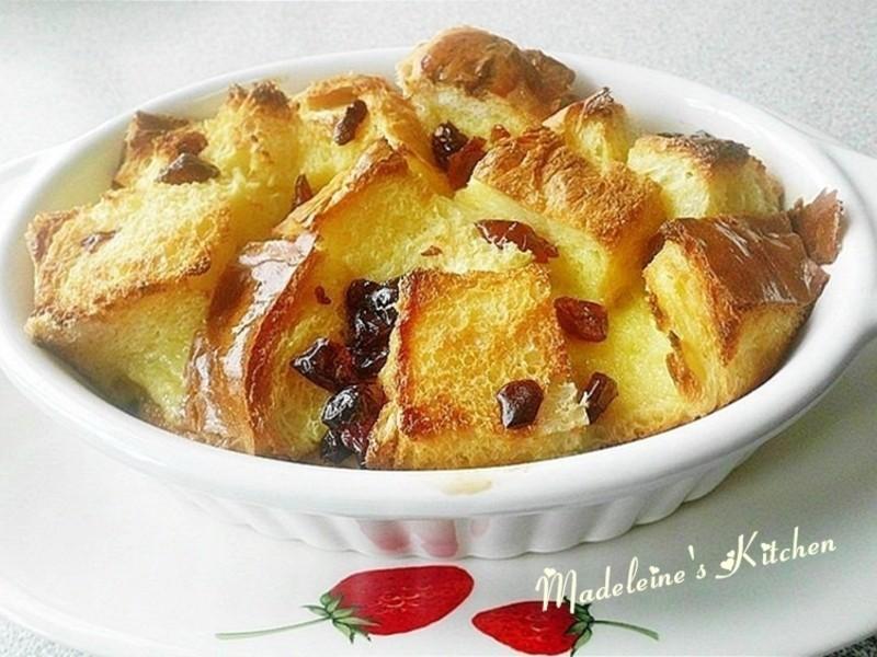 蔓越莓麵包布丁