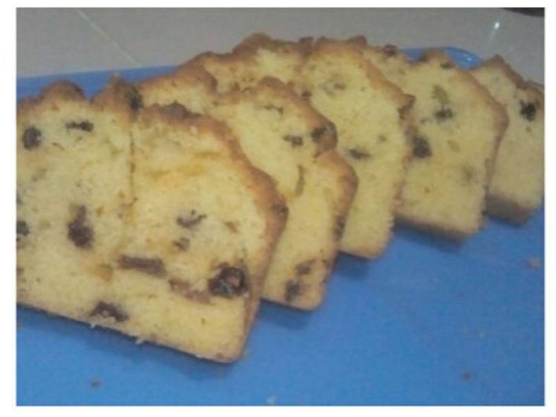 低糖磅蛋糕