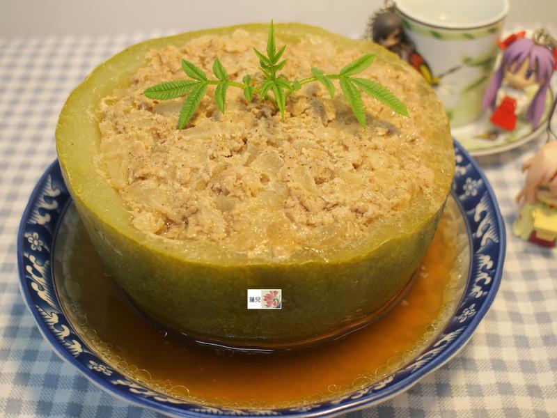 蒸肉餅(冬瓜盅)