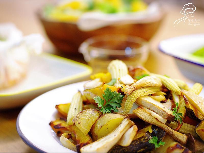 饗瘦美味-水波爐 意大利香料烤野蔬