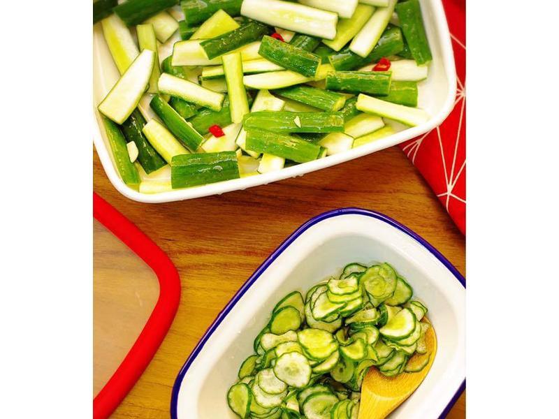 饗瘦美味-雙併小黃瓜