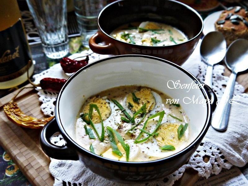 黃芥苿醬佐水煮蛋