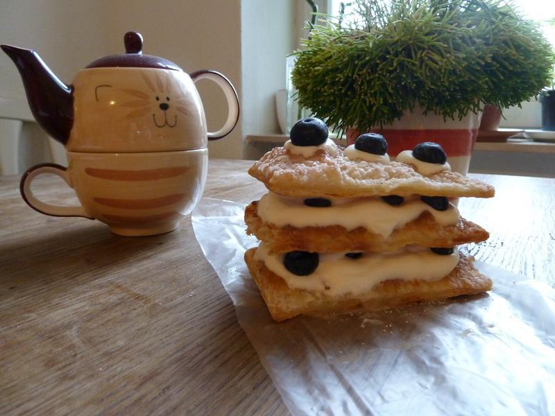 超酥軟~法式千層酥(藍莓款)