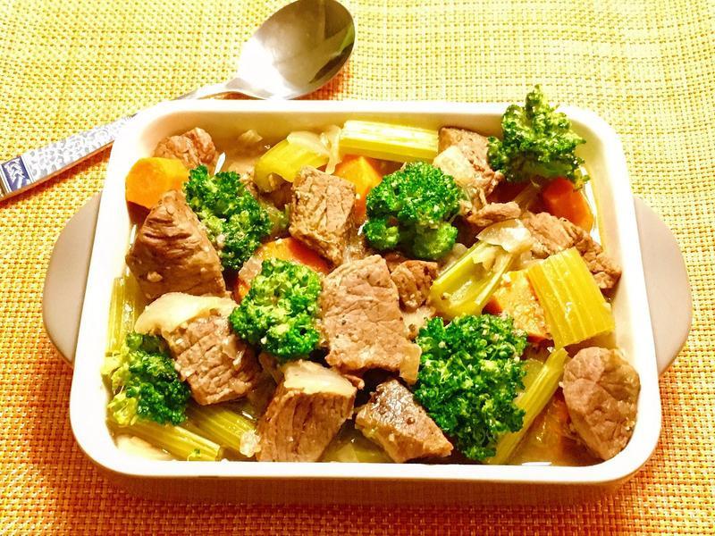 西式蔬菜燉牛肉