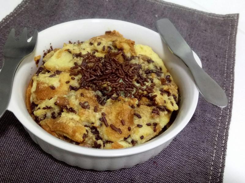 ❤早餐料理❤熱呼呼巧克力麵包布丁好暖心