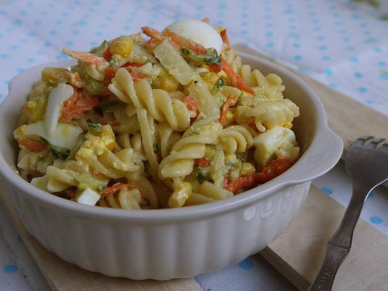 美國 蛋沙拉麵(Eiersalat)