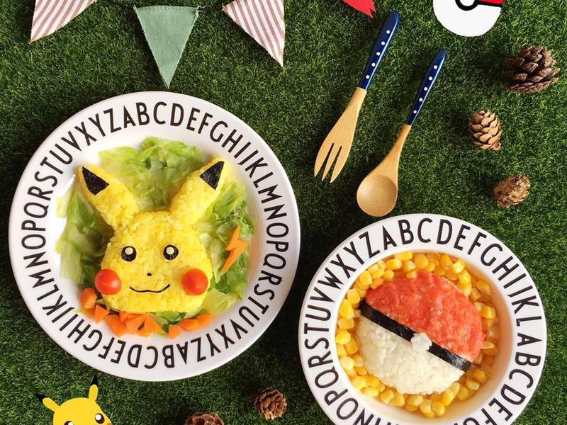 寶副食👶🏼皮卡丘&神奇寶貝球造型便當
