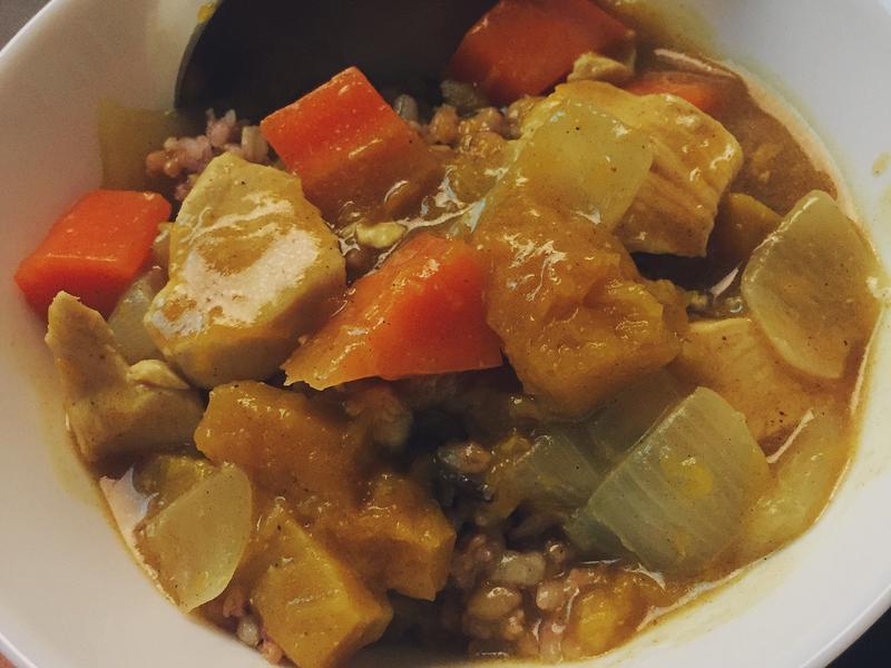 南瓜咖哩 pumpkin curry
