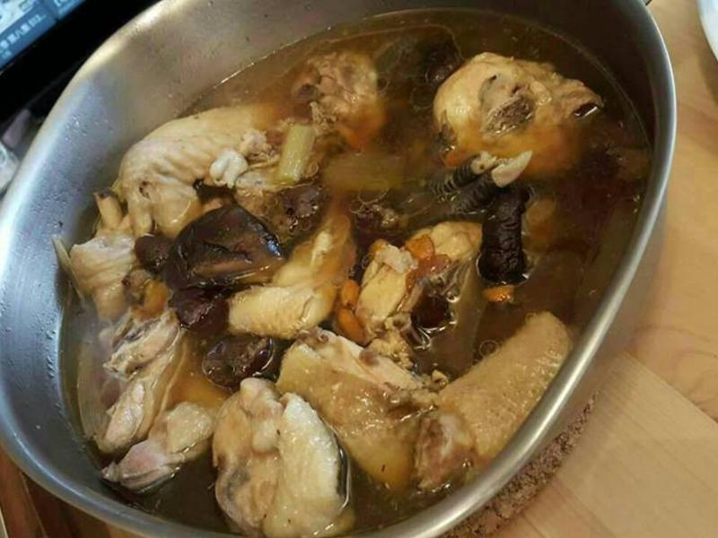 簡單的雞湯