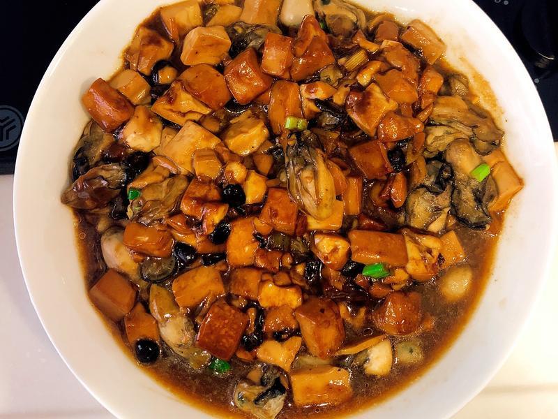 豆鼓牡蠣豆腐