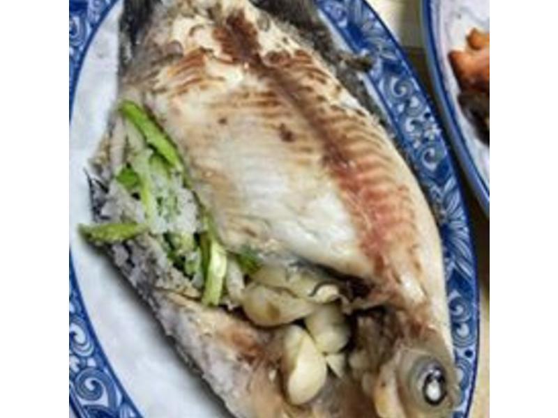 超好吃的鹽焗吳郭魚 烤箱料理