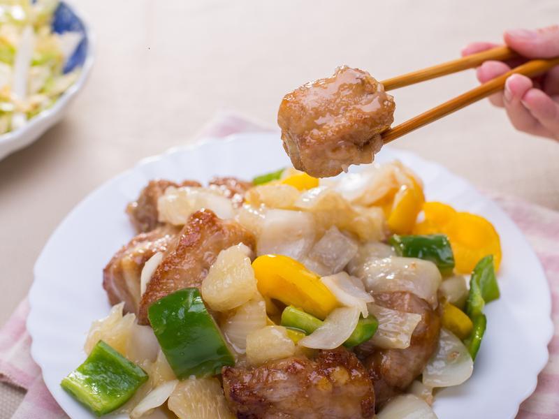 中式廚房 X 柚香青檸糖醋排骨