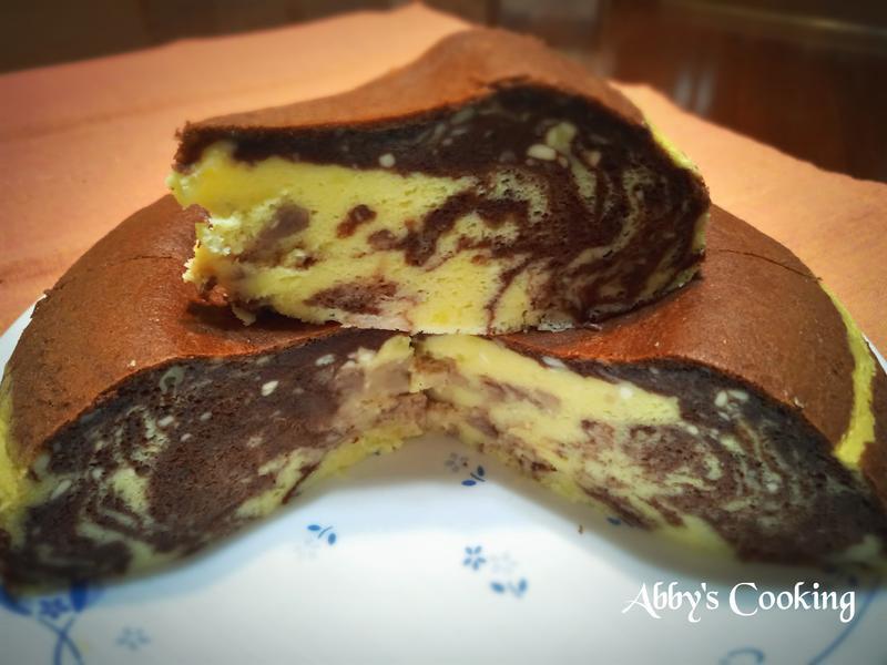 巧克力大理石紋輕乳酪蛋糕(電子鍋)