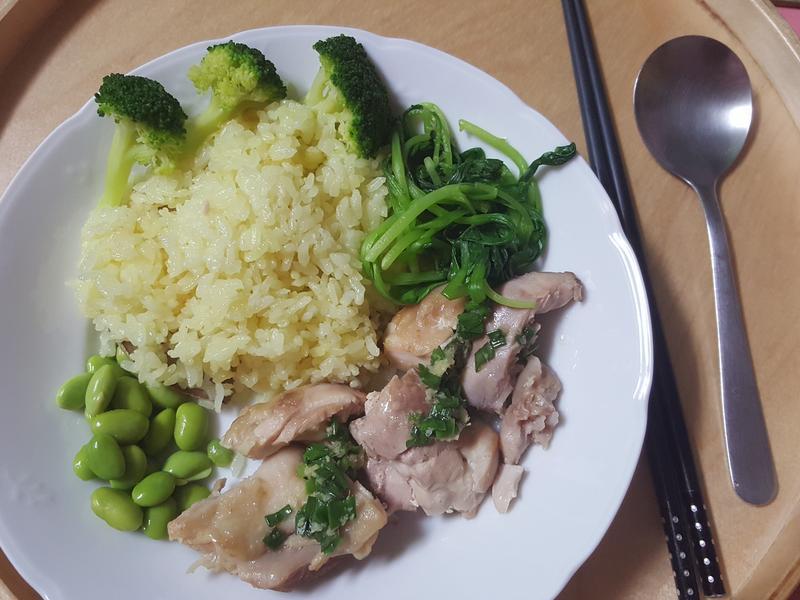 海南雞飯(電子鍋版)