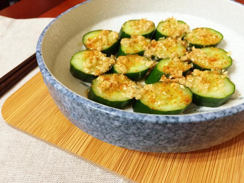 日式胡麻黃瓜(黃瓜好吃秘訣)