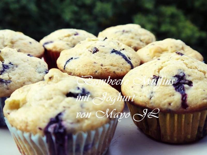 黑莓優格馬芬(Muffins)