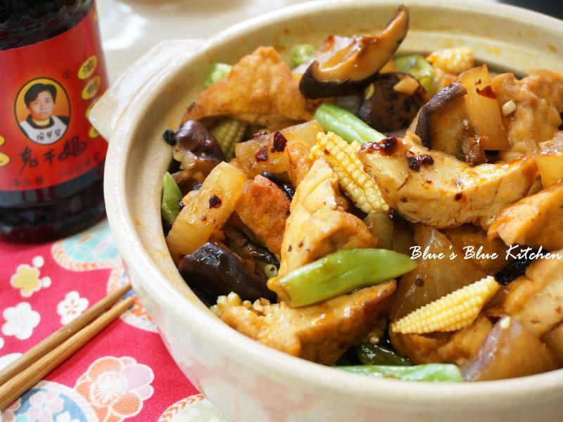 私房悶豆腐(超簡易一鍋到底疊煮法)