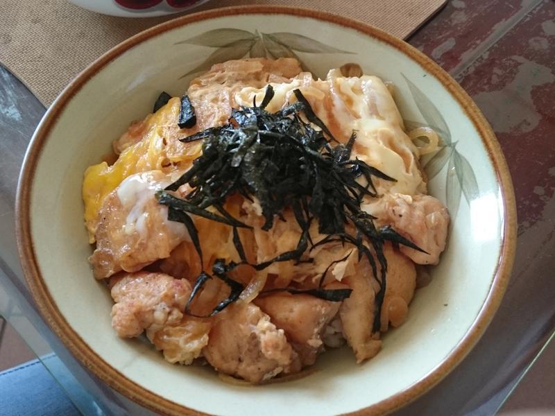 簡單料理~日式親子丼
