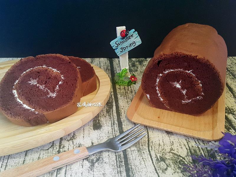 巧克力戚風蛋糕捲