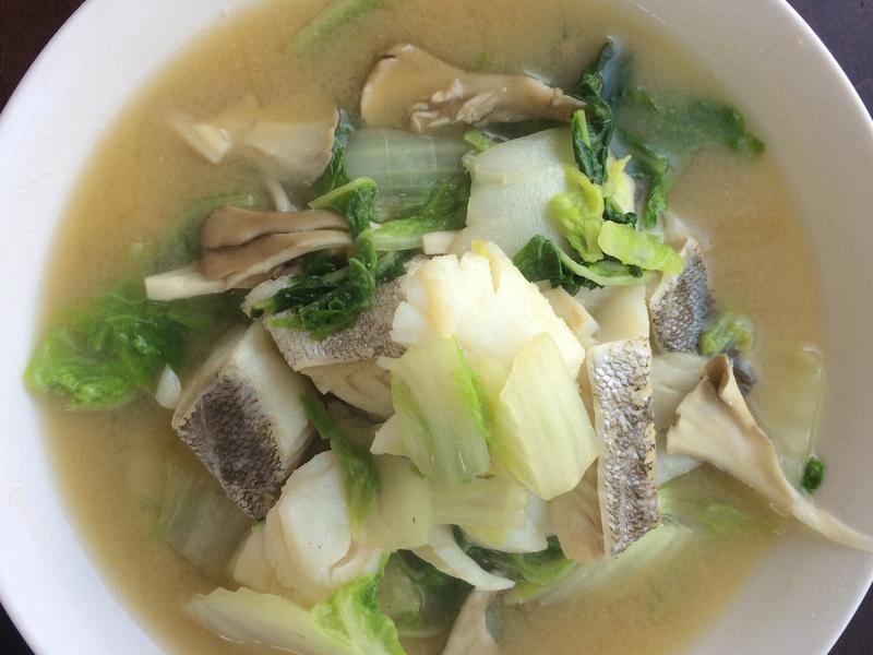 食欲的秋天之鳕鱼与白菜