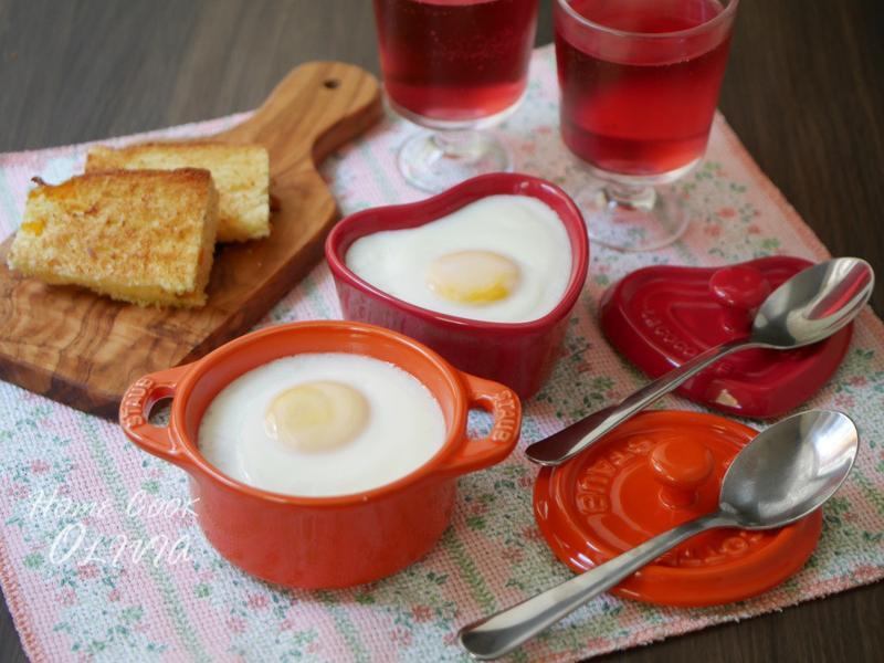 小廚娘♥茄汁燉豆蒸蛋盅#電鍋料理