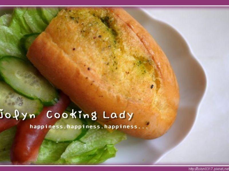 ♫下廚--朝食-德式香腸堡