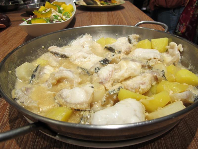 蒜酥昆布味噌清煮龍膽石斑