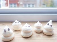 ▶︎萬聖節◀︎—憨小鬼 蛋白霜餅乾!