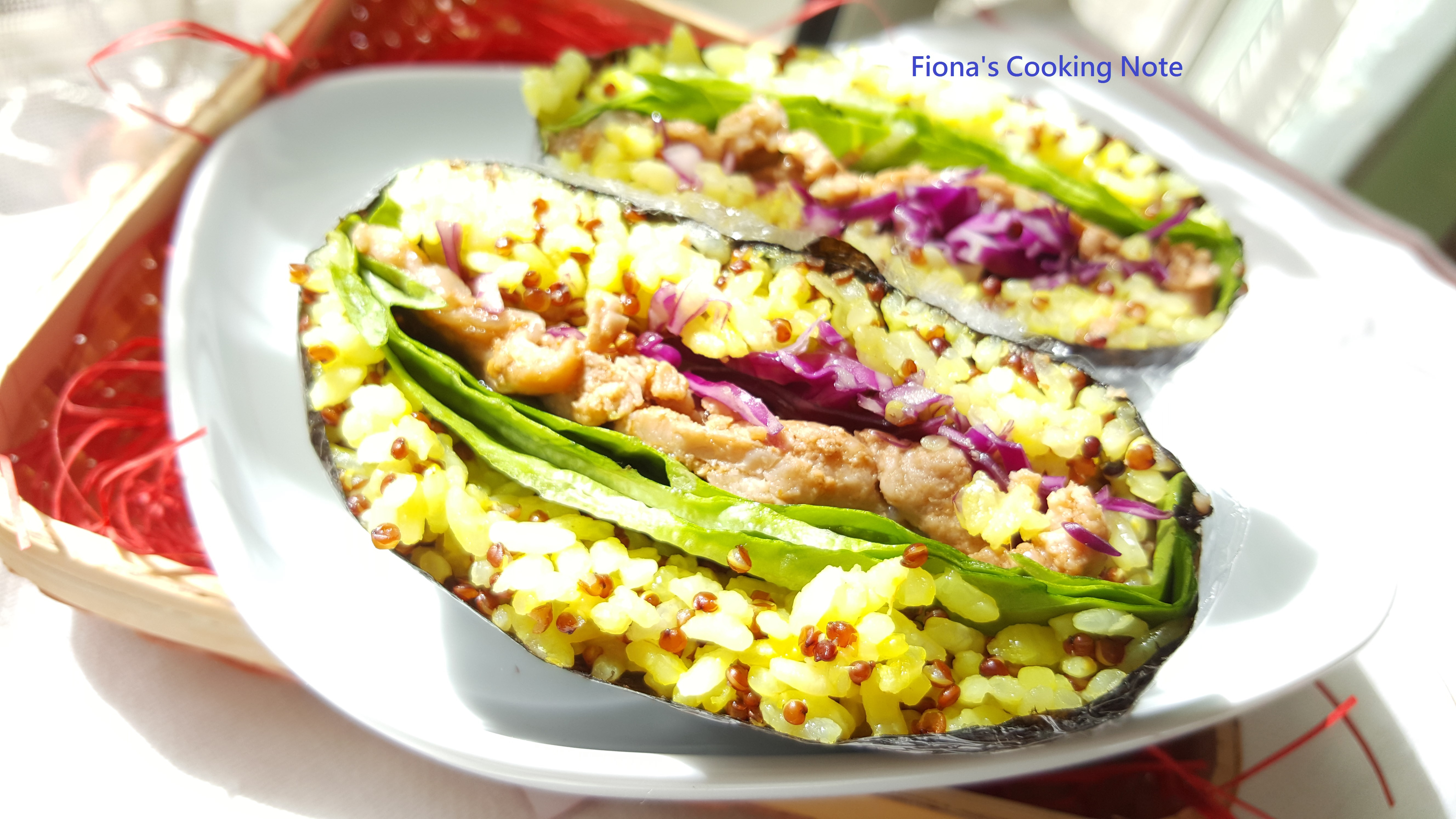 薑黃紅藜飯糰 *(免捏飯糰)*