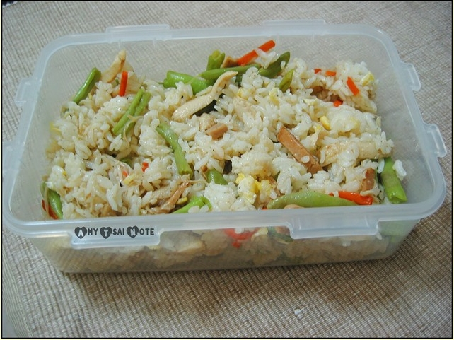 春意料理:奶油椒鹽時蔬炒飯