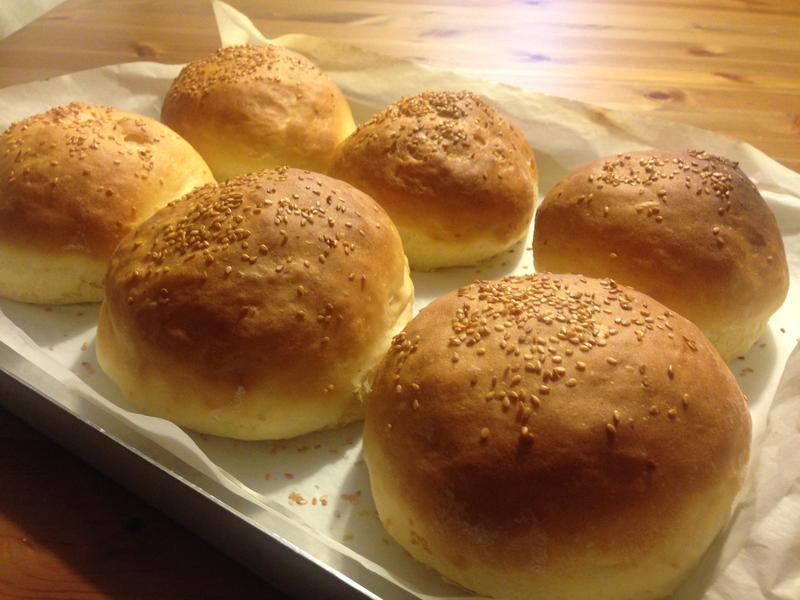麵包12---漢堡麵包自己做