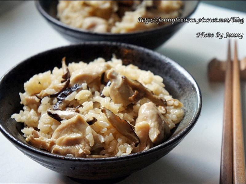 電鍋料理‧麻油雞丁飯