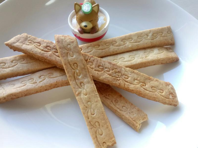 ❤低油料理❤BB也可食香濃黃豆粉酥脆餅乾